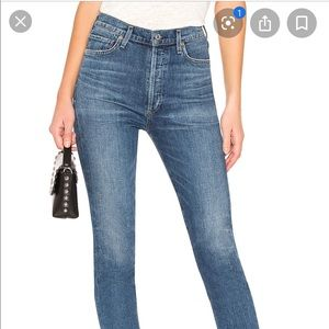 Olivia high rise slim ankle jeans size 26